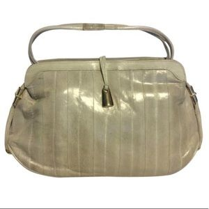 Vintage genuine EEL Leather Purse/Clutch